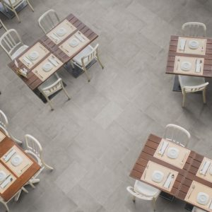 dinning table and chairs from top view